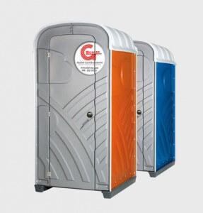 Zwei Miet-WC Kabinen von miet-wc Gagzo UG
