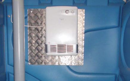 Frostwächter für Miet-WC